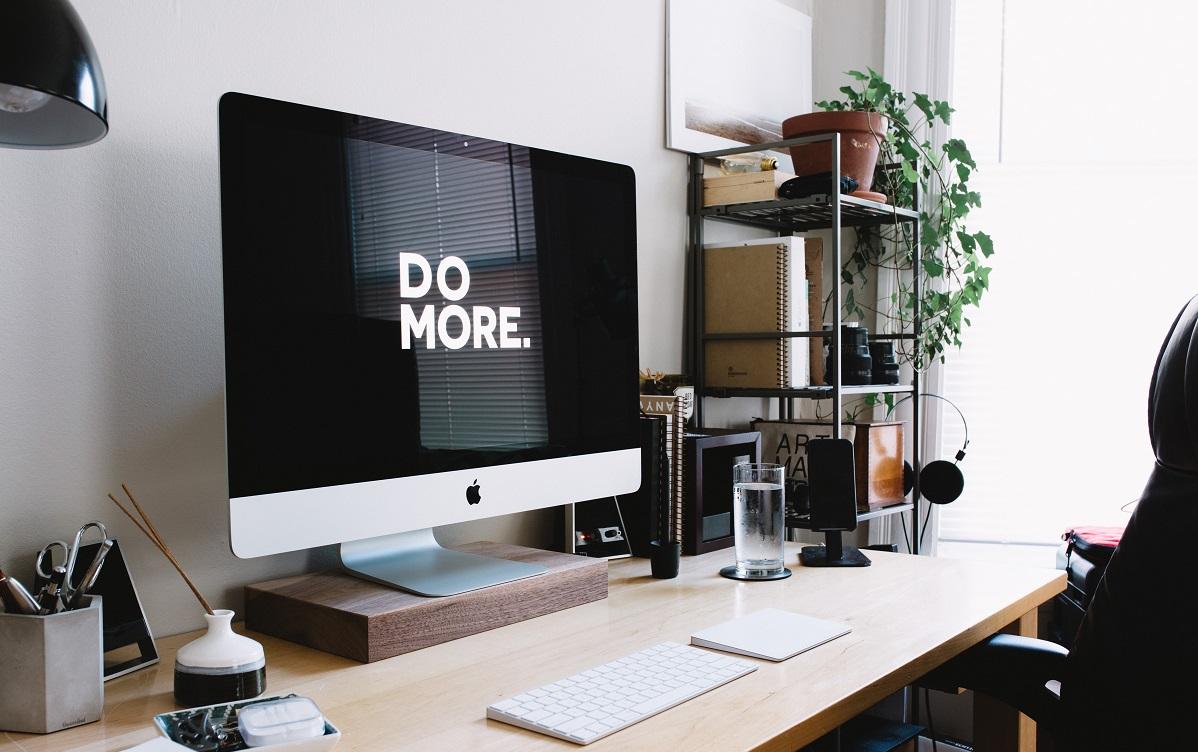 Do more written on screen